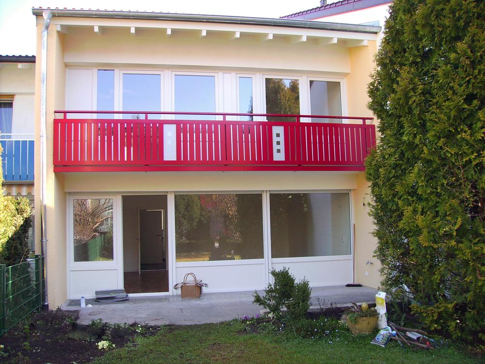 Fassadensanierung Reihenmittelhaus
